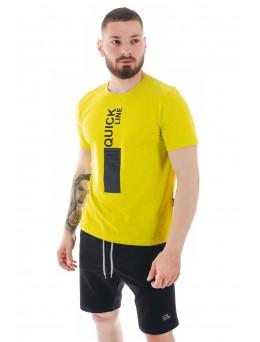 Мъжка тениска, памук, Quick Line, модел 3044
